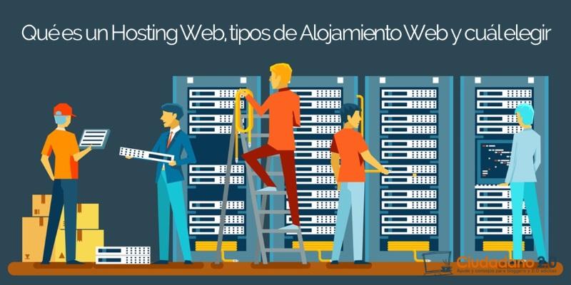 Qué es un hosting web y cómo comprar un hosting