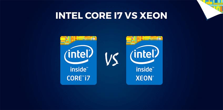 ¿Diferencia entre Xeon y los Intel Core?
