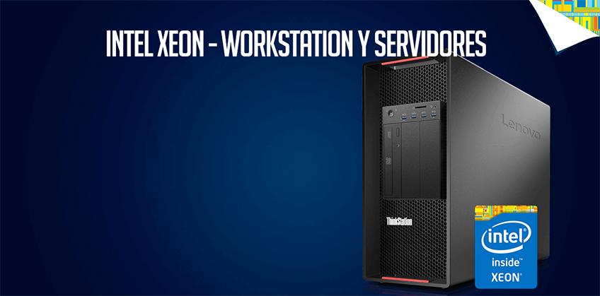 Intel Xeon para estaciones de trabajo