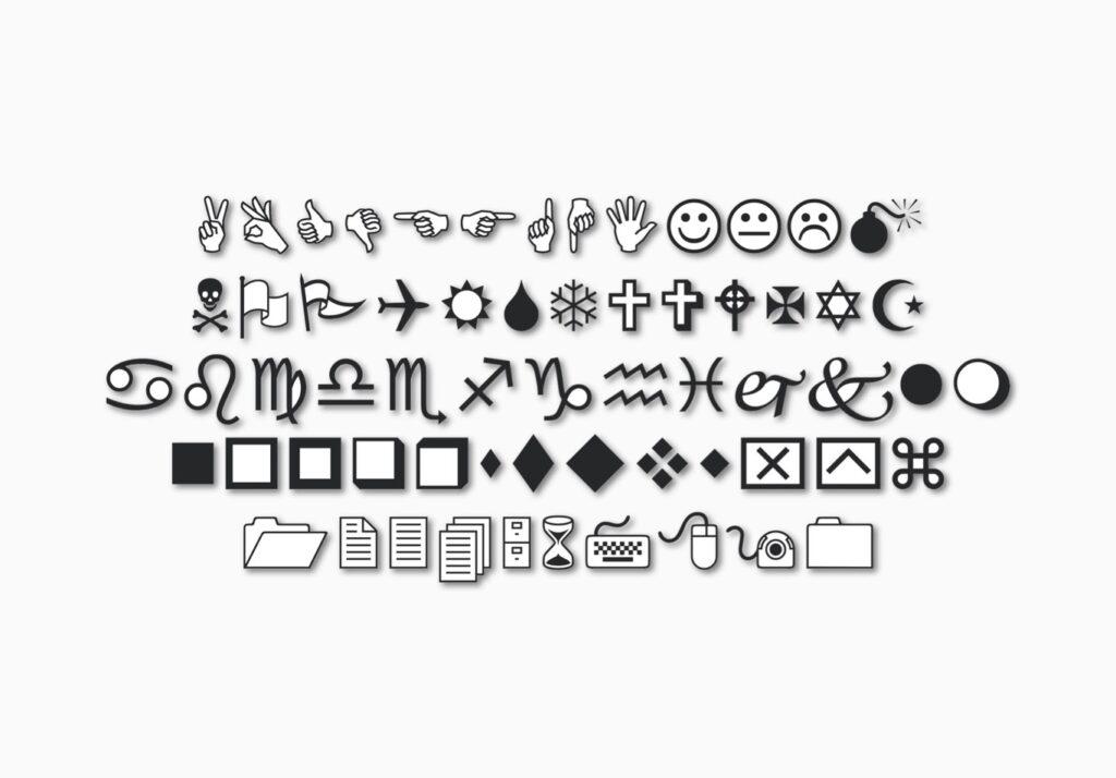 emojis clasicos en windows