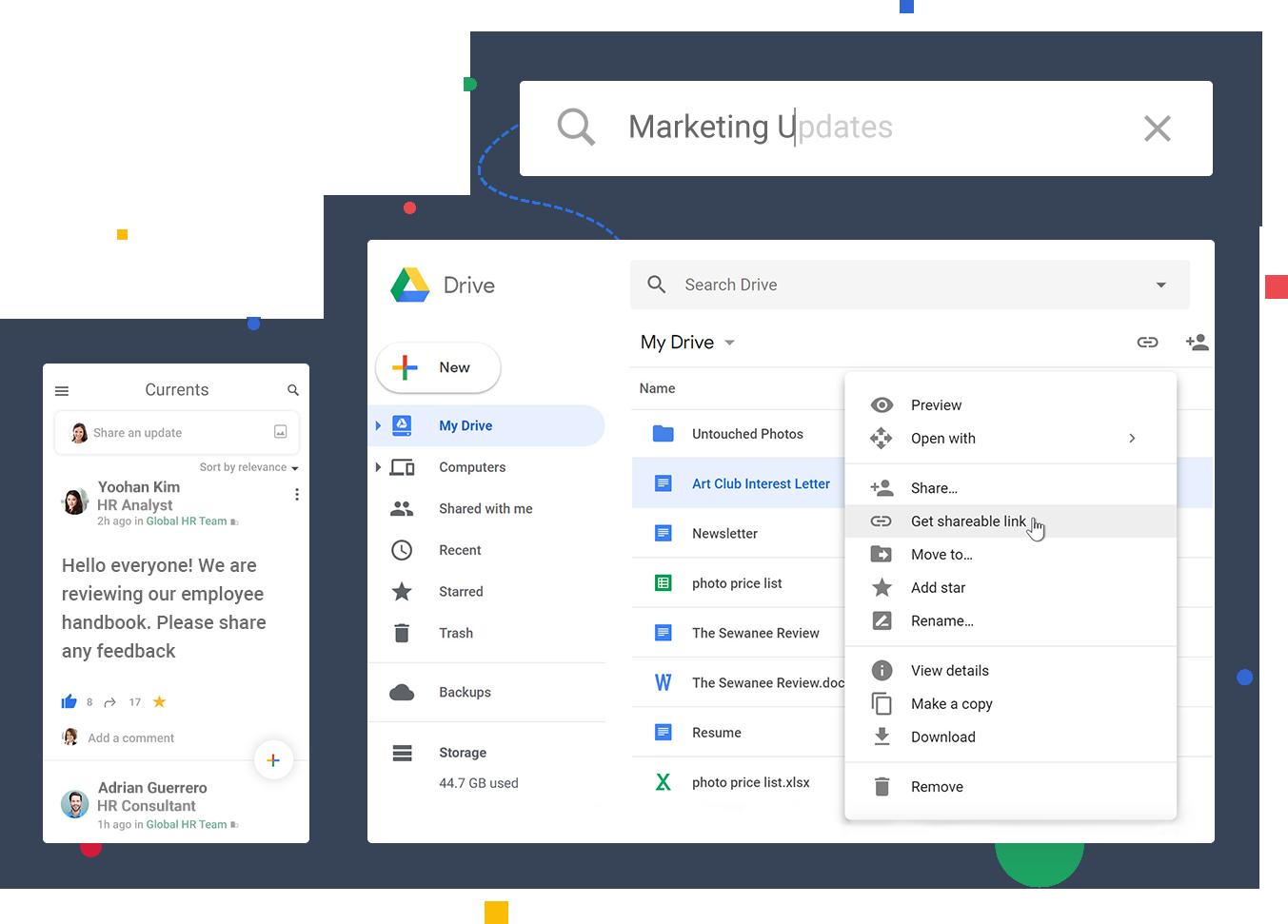 google-interaccion-colaboracion